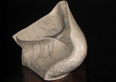 il-vento,-ceramica-raku,-cm-20x-25,-2006
